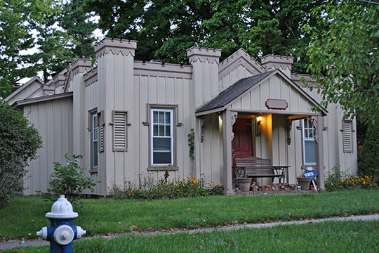 Wallace W. Carpenter House, ca. 1855, 323 Summit Drive, Granville, OH, National Register