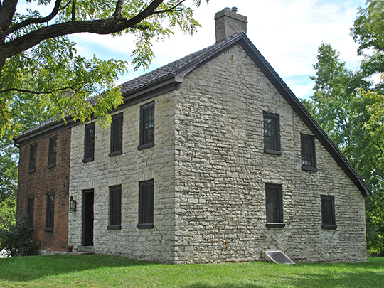 Lewis Kemp House, ca. 1806, 4800 Burkhardt Avenue, Dayton, OH, National Register