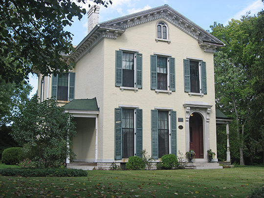 Nicholas Ohmer House, ca. 1864, 1350 Creighton Street, Dayton, OH, National Register