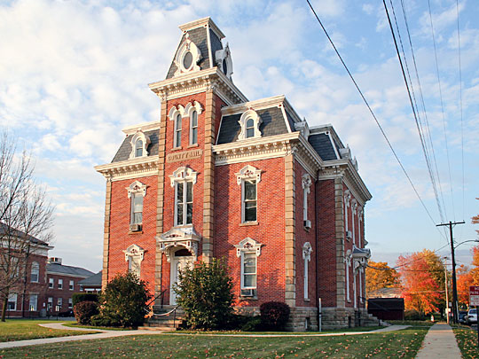 Morrow County Jail, Mount Gilead Ohio