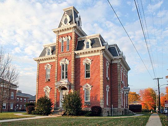 Morrow County Jail, Mount Gilead Ohio