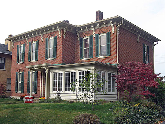 Ansel T. Walling House, ca. 1869, 146 West Union Street, Circleville, OH, National Register