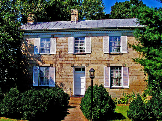 Vanmeter Stone House, ca. 1823, Routes 23 and 124, Scioto Township, Pike County, OH, National Register