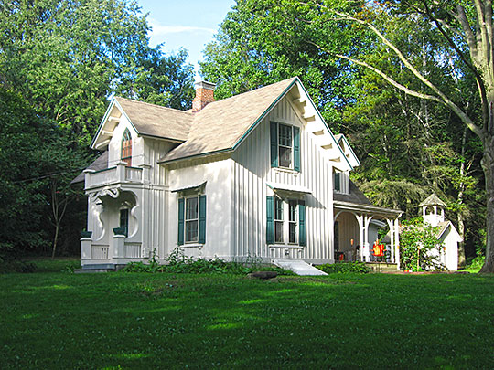 Aaron Ferry House, ca. 1866, 5058 Sunnybrook Road, Kent, OH, National Register