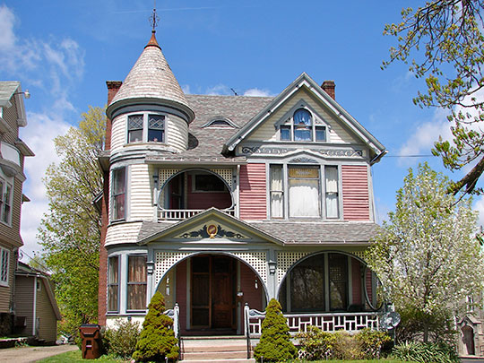 Rufus A. Kern House, ca. 1900, 308 Park Avenue West, Mansfield, OH, National Register