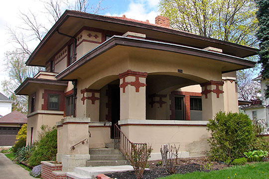 Rufus A. Kern House, ca. 1920, 608 Park Avenue West, Mansfield, OH, National Register