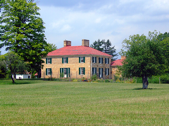 Adena Mansion (Thomas Worthington House), ca. 1807, Adena Road, near Chillicothe, OH, National Register