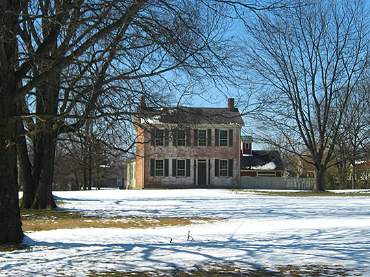 Corwin House, ca. 1830, 1255 North State Route 48, Lebanon, OH, National Register