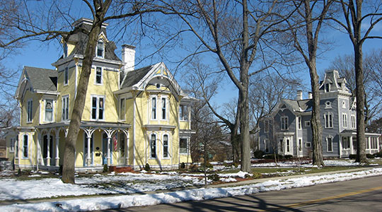 East Orchard Avenue, Floraville Historic District, Lebanon, OH, National Register