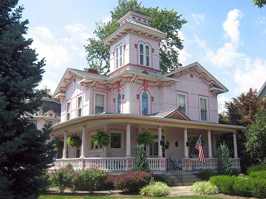Liggett-Freedlander House, ca. 1861, 408 North Beaver Street, Wooster, OH, National Register