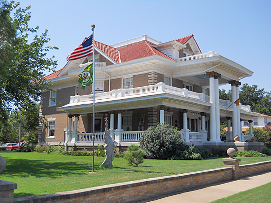 McCristy-Knox Mansion, Enid, OK, National Register