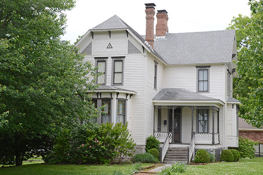 Joseph M. Thompson House, ca. 1889, 300 South College Avenue, Tahlequah, OK, National Register