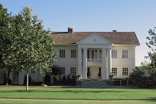 Boyd House (President's House), ca. 1906, 407 West Boyd Street, Norman, OK, National Register