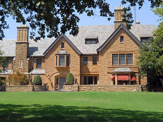 H. H. Champlin House, ca. 1939, 612 South Tyler Street, Kisner Heights neighborhood, Enid, OK, National Register