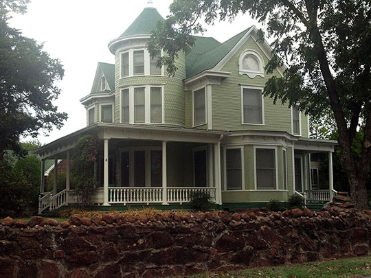 Walker House, ca. 1898, 1801 North Broadway, Shawnee, OK, National Register