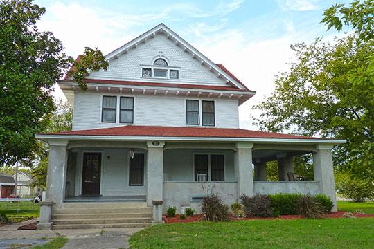 Hogue House, ca. 1913, 1001 South Olive Street, Chelsea, OK, National Register