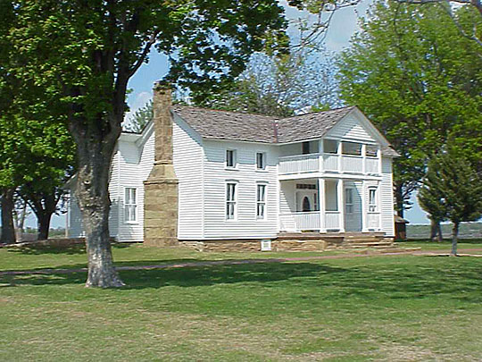 Will Rogers Birthplace, ca. 1875, Oologah, OK, National Register