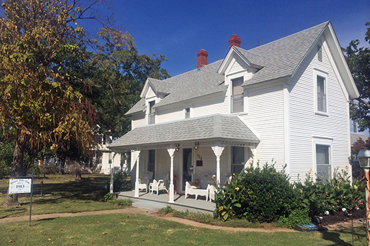 B. W. McLean House and Office, ca. 1913, 23 East A Street, Jenks, OK, National Register