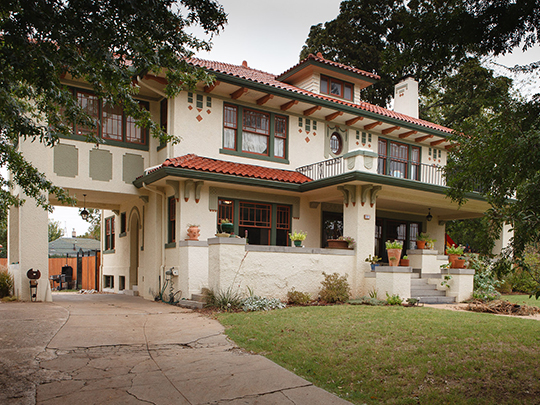 home,residence,national register,riverview,historic district, tulsa, ok