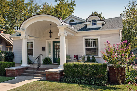 Circa 1921 home in the Yorktown Historic District, Tulsa, OK, National Register