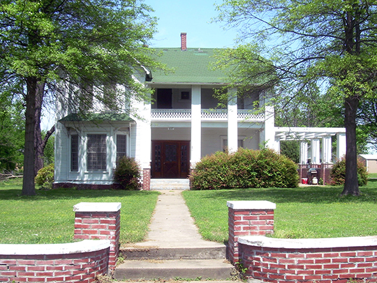 Frederick Parkinson House, ca. 1897, 407 3rd Street, NE, Wagoner, OK, National Register