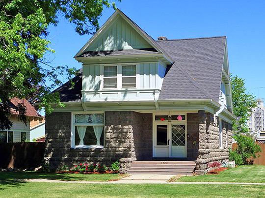 Rand House, ca. 1909, 1700 Fourth Street, Baker City, OR, National Register
