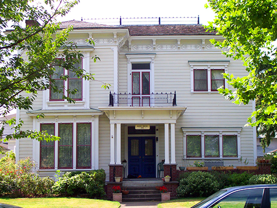 Lewis G. Kline House, ca. 1884, 308 NW 8th Street, Corvallis, OR, National Register