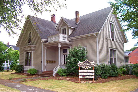 Elias Woodward House, ca. 1871, 442 NW 4th Street, Corvallis, OR, National Register
