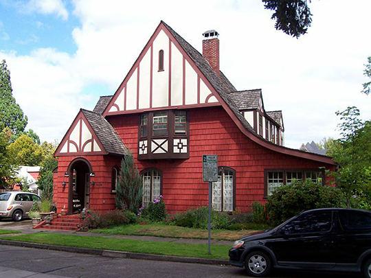 John Bexell House, ca. 1926, 3009 NW Van Buren Avenue, Corvallis, OR, National Register