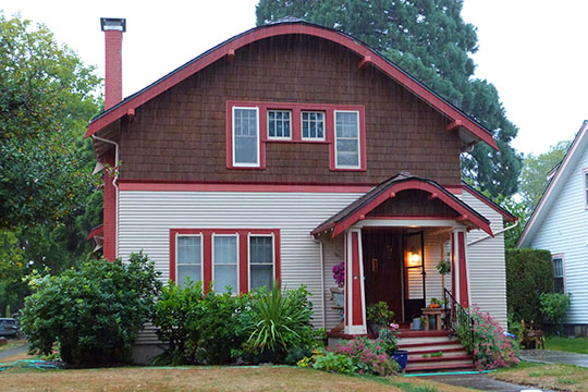 Oscar and Hazel Thorson House, ca. 1910, 510 NW Delaware Avenue, Bend, OR, National Register