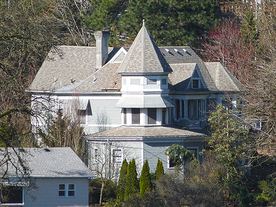 Lewthwaite-Moffatt House, ca. 1896, 4891 Willamette Falls Drive, West Linn, OR, National Register