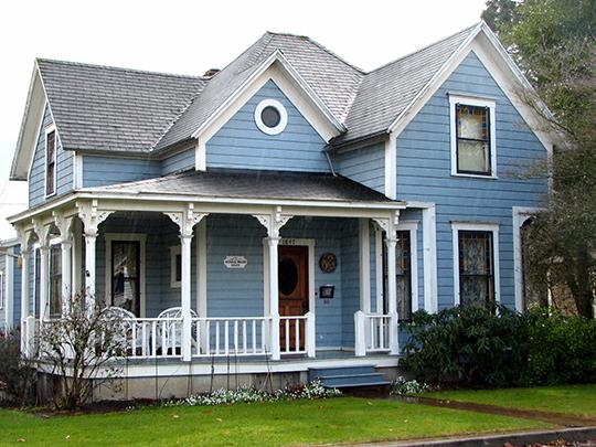 Nicholas O. Walden House, ca. 1895, 1847 Southeast 5th Avenue (Willamette Historic District), West Linn, OR, National Register