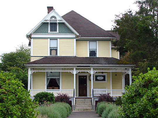 James Grant Watts House, ca. 1902, 206 SE 1st Street, Scappoose, OR, National Register