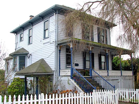 Cox-Williams House, ca. 1890, 280 South 1st Street, St. Helens, OR, National Register