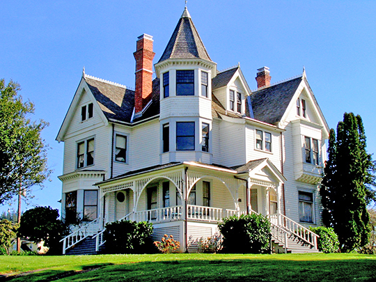 Andrew Jackson Sherwood House, ca. 1901, 257 East Main Street, Coquille, OR, National Register
