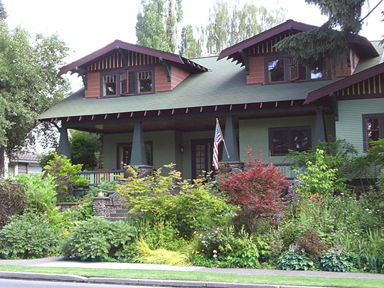 Home in the Drake Park Neighborhood Historic District, Bend, OR, National Register