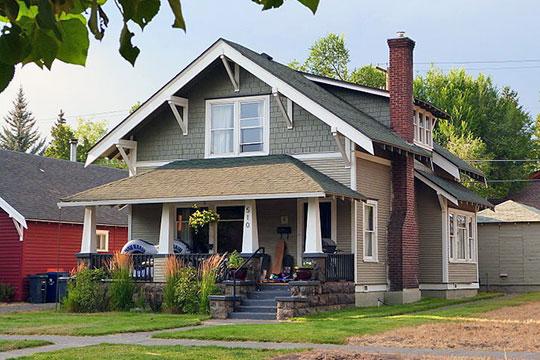 Oscar and Hazel Thorson House, ca. 1910, 510 NW Delaware Avenue, Bend, OR, National Register
