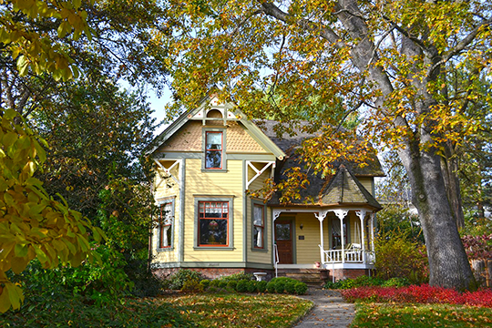 Harry L. Whited House, ca. 1898, 321 North Main Street, Ashland, OR, National Register