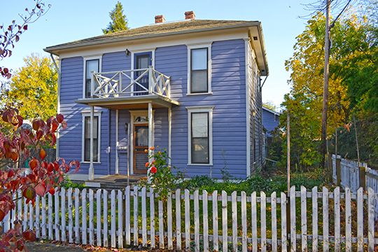 Nils Ahlstrom House, ca. 1888, 248 Fifth Street, Ashland, OR, National Register