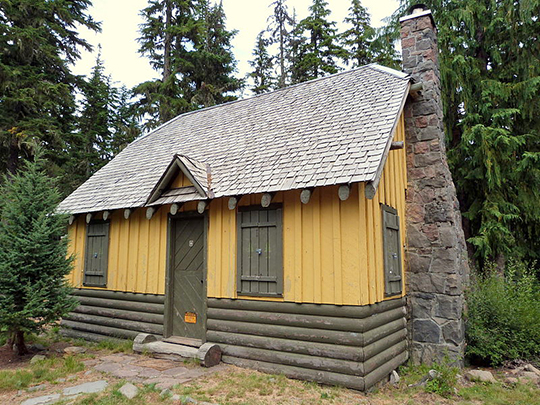 Olallie Lake Guard Station, ca. 1939, Forest Road, near Olallie Lake, Mount Hood National Forest, OR, National Register
