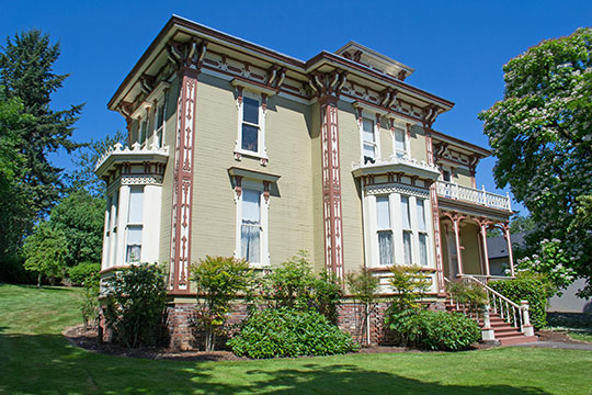 The John M. Moyer House, ca. 1881, 204 Main Street, Brownsville, OR, Nationa Register