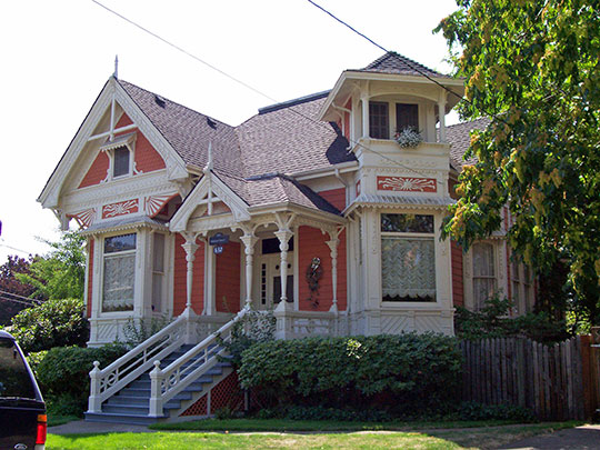 John Ralston House, ca. 1889, 632 SE Baker Street, Albany, OR, National Register