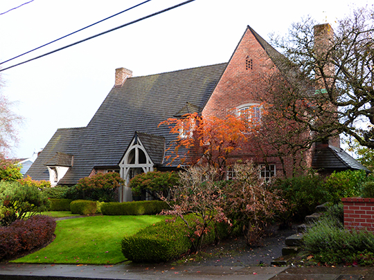 Paul F. Murphy House, ca. 1934, 850 Powhatan Terrace NW, Portland, OR, National Register
