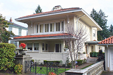 John Virginius and Annis Bennes House, ca. 1911, 122 Marconi Avenue SW, Portland, OR, National Register