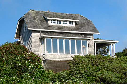 Mary Frances Isom Cottage, ca. 1912, 7465 Beulah Reed Road, Manzanita, OR, National Register