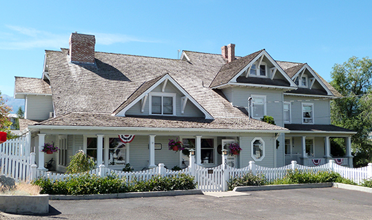 William P. Warnock House, ca. 1910, 501 SE Fifth Street, Enterprise, OR, National Register