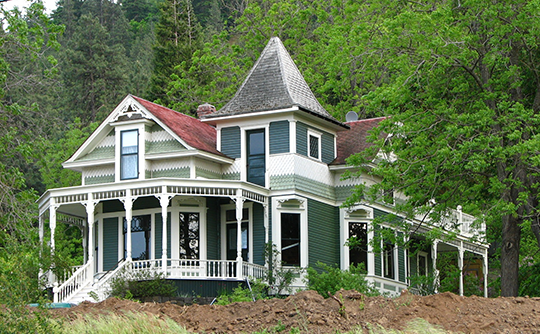 Jefferson Mosier House, ca. 1904, 704 Third Avenue, Mosier, OR, National Register