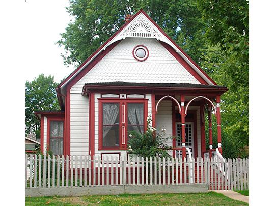 John Tigard House (Tigard Historical Association), ca. 1880, Tigard, Oregon, National Register