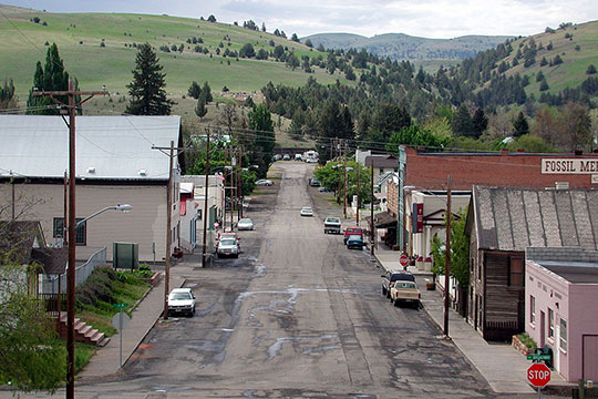 Main Street, Fossil, OR