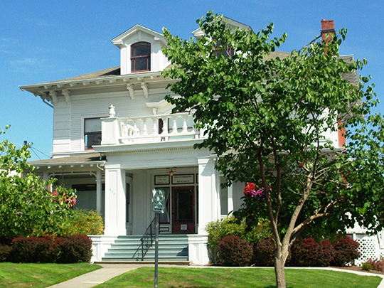 Frank W. Fenton House, ca. 1909, 434 North Evans Street, McMinnville, OR, National Register